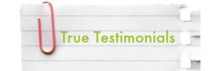 True testimonial 300x100