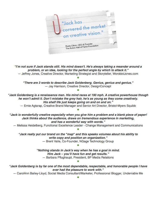 True Testimonials ED&G site