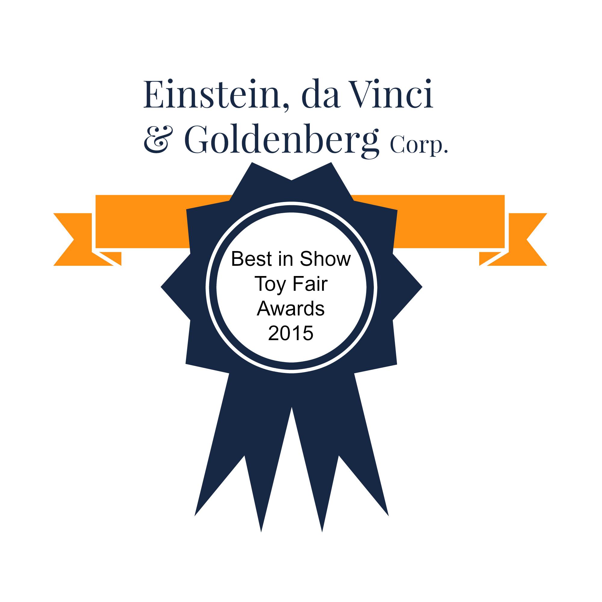 EDandG Toy Fair Award